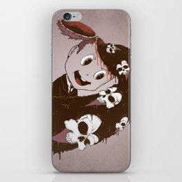 Head Spill iPhone Skin