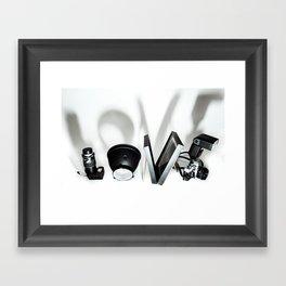 Love Photography Framed Art Print