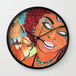 Trinidad & Tobago Color Wall Clock