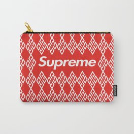 Givenchy x Supreme White Carry-All Pouch