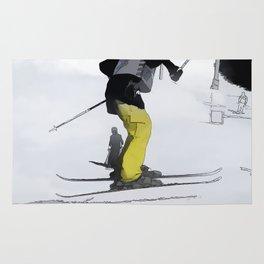 Natural High   - Ski Jump Landing Rug