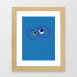 Pixar - Inside Out - Sadness Framed Art Print