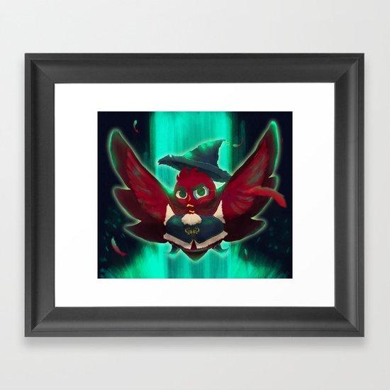 bird bard Framed Art Print