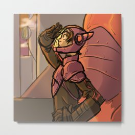 Heroic Duties Metal Print