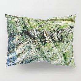 Molten Glass Pillow Sham