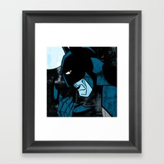 Dark Nighty Framed Art Print