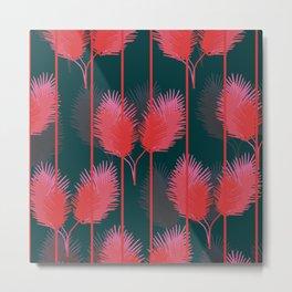 Rouge Flamant Metal Print