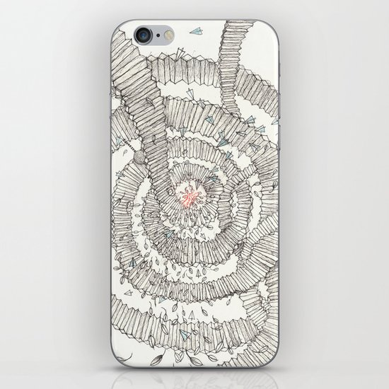 Santa is coming!!! iPhone & iPod Skin