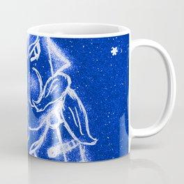 Nutcracker in Bright Blue Coffee Mug