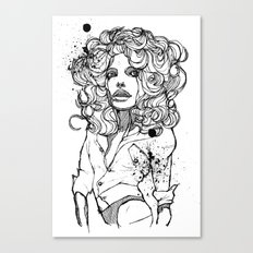 Original Tears Canvas Print