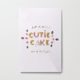 cutie cake Metal Print