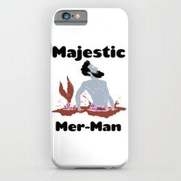 Majestic Mer man 12 iPhone Case