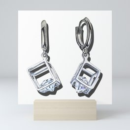 Favorite earrings Mini Art Print