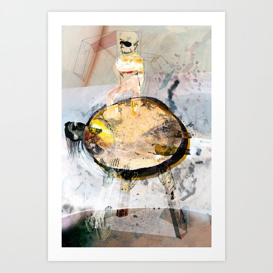 Vitriol 1 Art Print