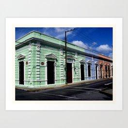 Calle 66 Art Print