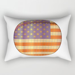 Tennis Stars And Stripes Rectangular Pillow