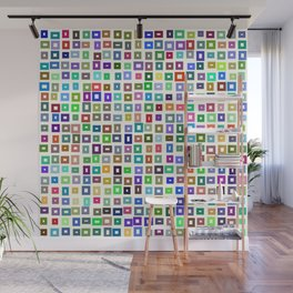 color rectangles 017 Wall Mural
