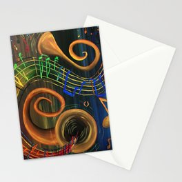 The ART of Music Stationery Cards