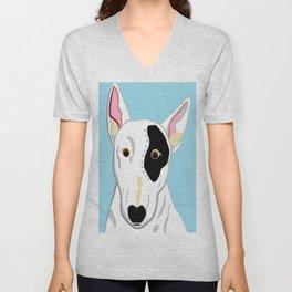 Bull Terrier Unisex V-Neck