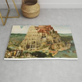 The Tower of Babel 1563 Rug