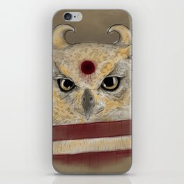 Cut Owl I iPhone Skin