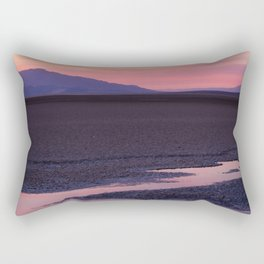 Death Valley Sunset Rectangular Pillow