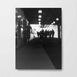 The One Fifteen To Penn Station Metal Print