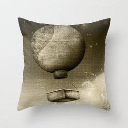 Dream Drifters Throw Pillow