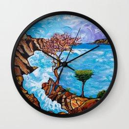 Torrey Pines Wall Clock