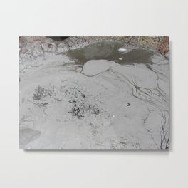 Bubbling To The Surface Metal Print