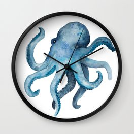 Blink the Octopus Wall Clock