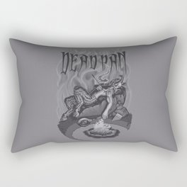 DEADPAN Rectangular Pillow