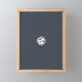 Misbehave Badge V1 Framed Mini Art Print