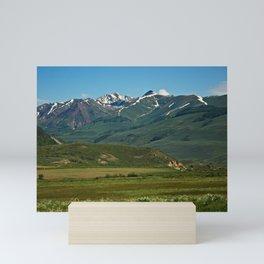 Mountain Valley Mini Art Print