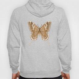 Beautiful Copper Butterfly Design Hoody