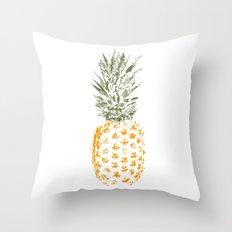 Pineapple I Throw Pillow