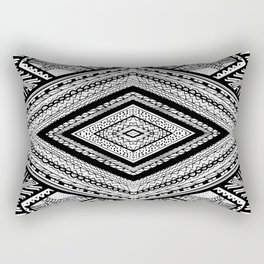 The Triangle Rectangular Pillow