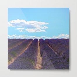 PROVENCE - Lavender | France | Travel | Summer | Purple | Nature | Landscape Metal Print