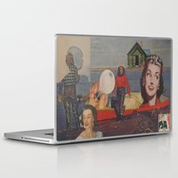 fishing Laptop & iPad Skins featuring Fishing by Jon Duci