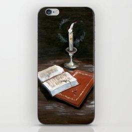 Cross on Bible iPhone Skin