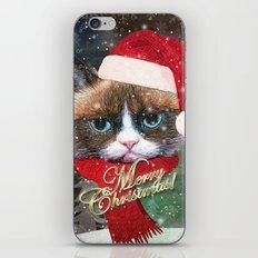 ~ Meowy Christmas ~ iPhone Skin