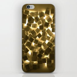 3D What Burns in Your Box? iPhone Skin