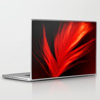 phoenix Laptop & iPad Skins featuring Phoenix by ALLY COXON