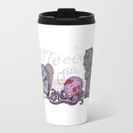 ZomBanimals Coffee: color Travel Mug