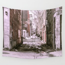 Montreal - Alley Wall Tapestry