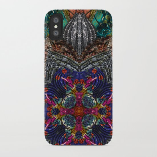 Psychedelic Botanical 16 iPhone Case