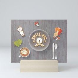 SmileDog Icing Cookies Mini Art Print
