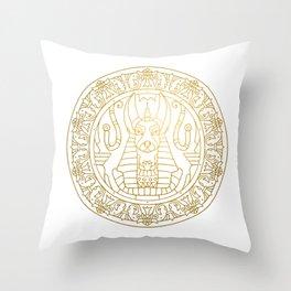 Anubis Mandala – Egypt Throw Pillow