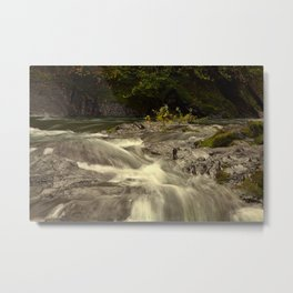 The River Metal Print