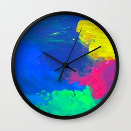 The Gorgeous Night Has Begun Again Wall Clock
